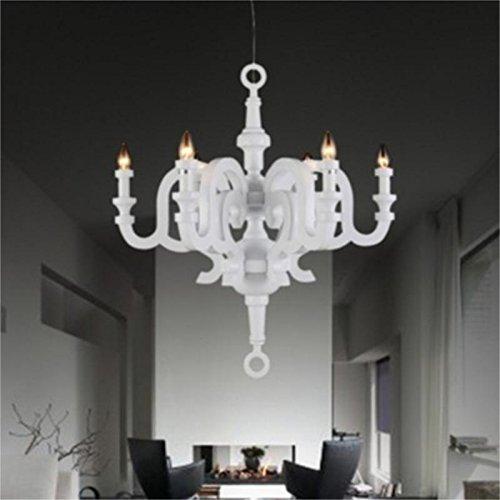 LINA-Minimalista continentale 6testa Roma lampadari di resina home page personalizzata soggiorno camera da letto ristorante lampada da studio lampadario