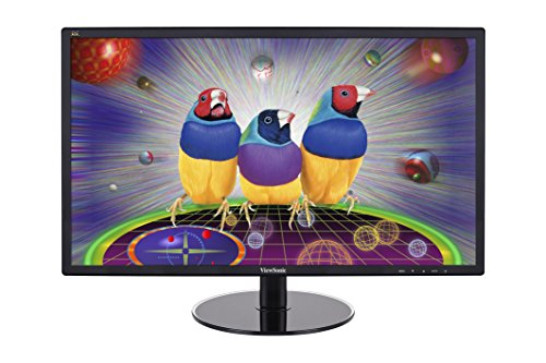 ViewSonic VX2409 59,9 cm (23,6 Zoll) LED-Monitor (DVI, VGA, 5ms Reaktionszeit) schwarz (Viewsonic 24 Full-hd 1080p)
