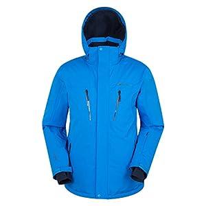 Mountain Warehouse Galactic Extreme Skijacke für Herren – Warm, atmungsaktiv, versiegelte Nähte, Abnehmbarer Schneerock – Ideal zum Skifahren und Snowboarden im Urlaub
