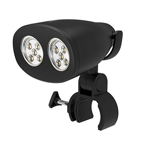 Lámpara de luz de iluminación, LightsGoal Luz de barbacoa LED, luces de barbacoa montadas, lámpara de 10 LED, 2 niveles de brillo, juego de interruptor táctil para barbacoa al aire libre, acampar