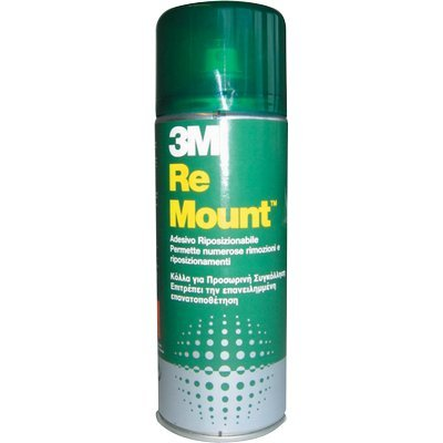 Colla spray ReMount 3M 400 ml removibile sempre