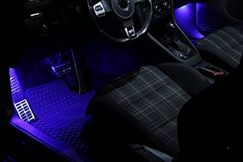 SMD LED éclairage de plancher bleu approprié pour Mercedes Benz Classe M ML W163 W164 Xenon