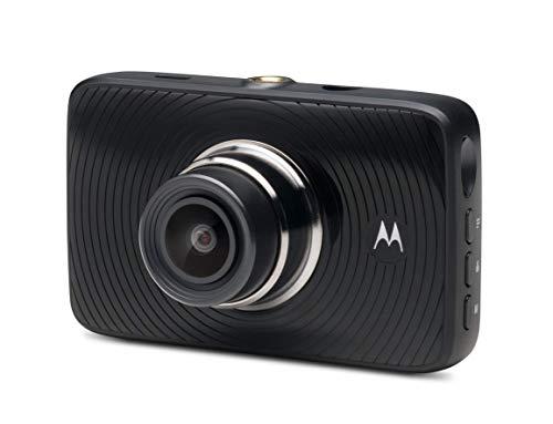 Motorola MDC300 Dash Cam, Auto Dashkamera, Full HD Video Loop mit 3'' LCD-Display, KFZ Kamera mit G-Sensor-Schwarz