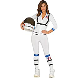 Guirca Disfraz adulta astronauta, Talla 36-40 (84947.0)