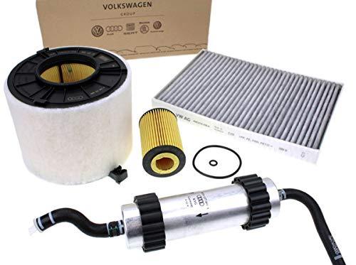 Pacchetto di ispezione originale TDI Filtro 2,0 L Diesel motore Service filtro motore 4 pezz