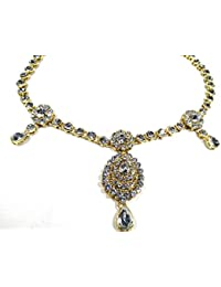Indian Ethnic Designer Fashion High Quality Kundan Stone/Gold Plated Belly Chain For Women And Girl/Belly Chain...