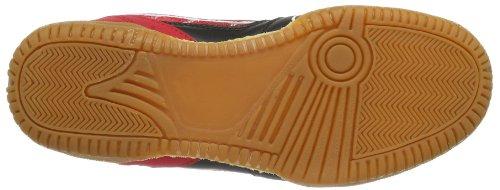 Killtec Soccero, Chaussures indoor mixte adulte Rouge - Rot (rot/schwarz 00400)