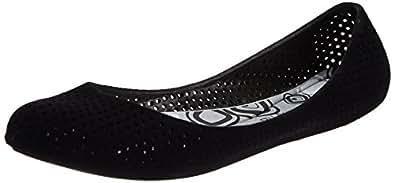 Sandak Women's Hydenflock Black Slippers - 7 Uk (5526009)