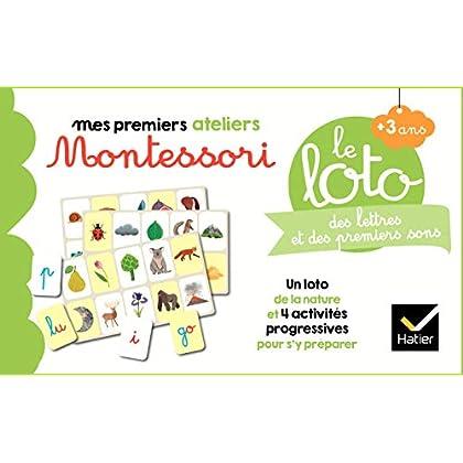 Le loto Montessori des lettres et des premiers sons