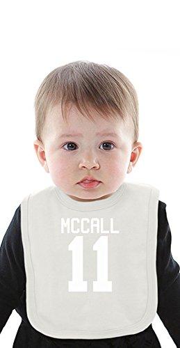 Scott McCall's Jersey Organic Bib With Ties Medium (Scott Vintage-jersey)