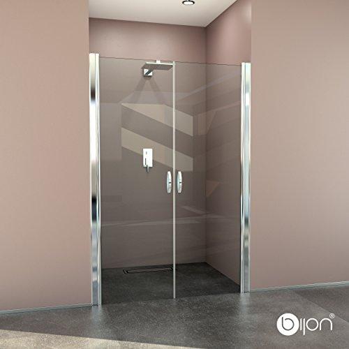 Hochwertige Design Duschabtrennung / Nischendusche mit Lotuseffekt