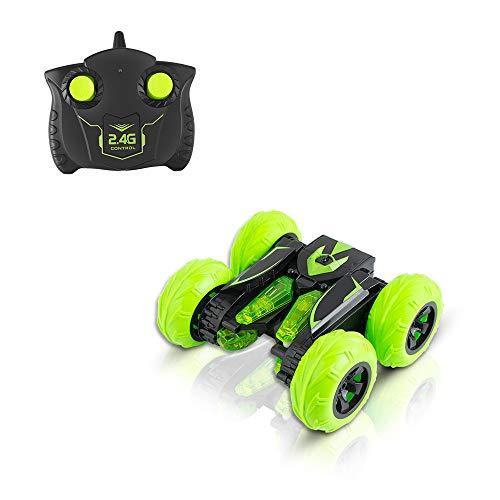Jamicy® SY004 2.4G Double Sided Drive Kinder drehen Stunt Tumbling Truck RC Fernbedienung Spielzeug, 500 mAh Batterie, Geben Sie Ihrem Kind die Beste Belohnung