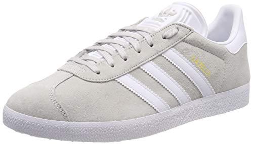 adidas Gazelle, Zapatillas de Gimnasia para Hombre, Gris Grey One F17/Ftwr White/Gold Met, 40 EU