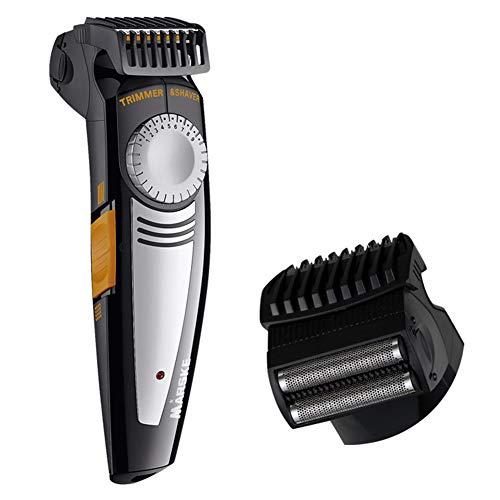 2 en 1 tondeuse à cheveux USB sans fil rechargeable Kit de toilettage étanche profession rasoir barbe tondeuse tout-en-un pour les hommes utilisation familiale