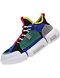 CAMEL CROWN Zapatillas de Running para Hombre Zapatos de Deporte Correr  Athletic Cordones Sneakers Casuales Moda e7d7cc2a68924