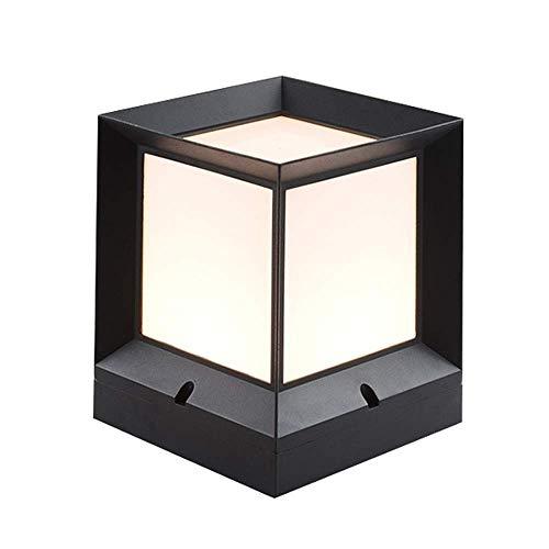 Kylinhhd Geführte Moderne wasserdichte Aluminiumsäulen-Lampe im Freien Haushalts-Garten-Wiesen-Gemeinschaftspark-dekorative Spalten-Lampe -