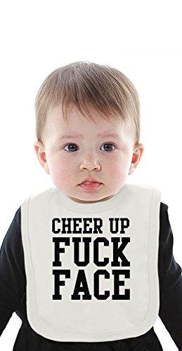 cheer-up-fuck-face-funny-slogan-organic-bib-with-ties-medium