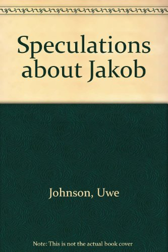 Speculations about Jakob