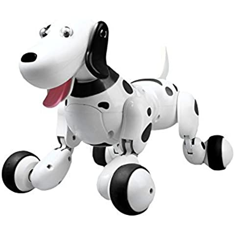 Perro Robotico Inteligente Radiocontrol Smart Dog | Juguetes Interactivos Control Remoto