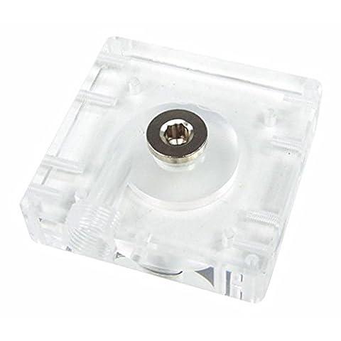 Alphacool - Top Plexi pour pompe Laing DDC 12V - Filetage 3/8''