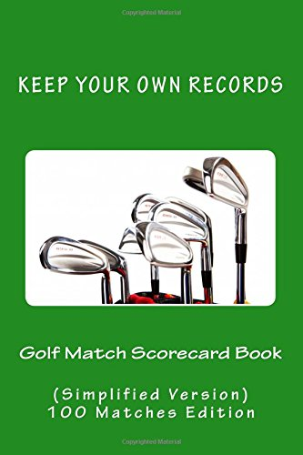 golf-match-scorecard-book-keep-your-own-records-simplified-version-volume-13