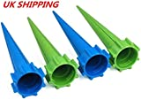 4 xGarden Watering Spikes Plant Waterers for Holiday Bottle Irrigation System