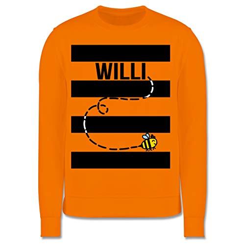 Shirtracer Karneval & Fasching Kinder - Bienen Kostüm Willi - 12-13 Jahre (152) - Orange - JH030K - Kinder ()