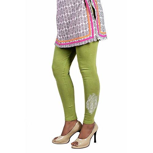 Ankita Women's Cotton Legging - Placement Print (Free Size)