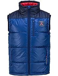 Doudoune sans manche PSG - Collection officielle Paris Saint Germain - Taille enfant garçon