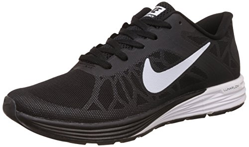 Nike Men's Lunarglide 6 Black Running Shoes - 7.5 UK/India (42 EU)(8.5 US)(654433-010)  available at amazon for Rs.4998