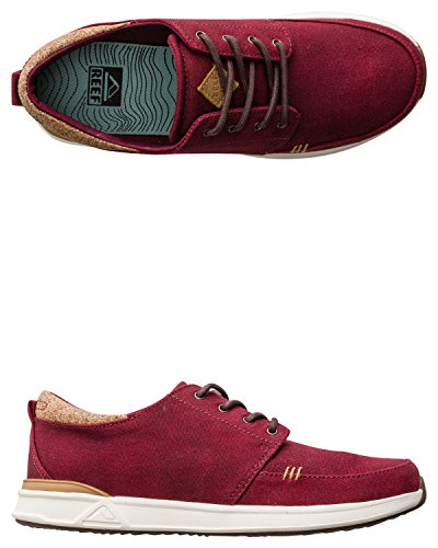 Reef Rover Low Tx, Chaussures Homme Rouge - Rojo (Red)