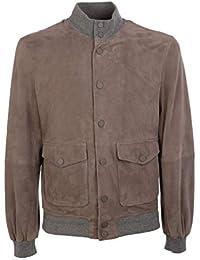 The Leathers Marrone Outerwear Uomo Camoscio Pologsue106 Jack Giacca VSUzpM