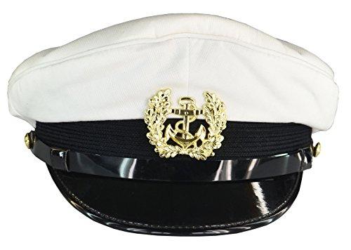 Marine Schirmmütze weiss, 57
