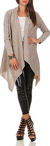 Damen leichter Mantel ( 586 ), Farbe:Beige