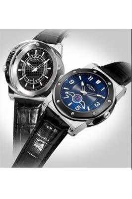 Rotary GS02950/04/05 GS02950-04-05 - Reloj para hombres, correa de cuero color negro