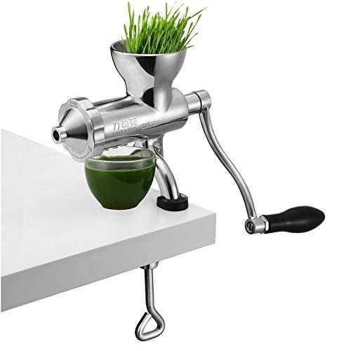 The Original Healthy Juicer - Manuelle Wheatgrass Juicer - Grünkohl, Spinat, Petersilie und jedes andere Blattgrün! Kauen des Live-Enzym-Kaltpressens