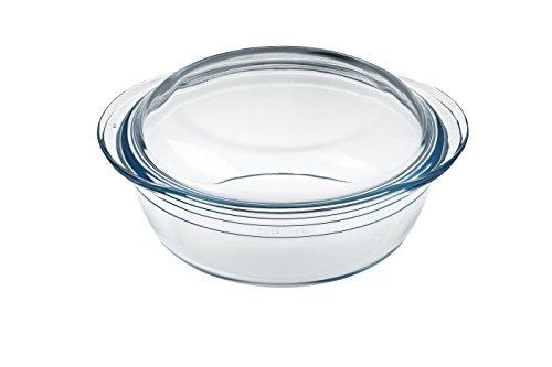 Ôcuisine Classic - Cacerola redonda de vidrio