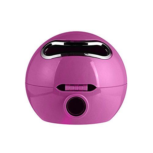 TLfyajJ Ball Shaped Emoji Kosmetiktücher Bad Wasserdichte Toilettenpapierhalter für Badezimmer, WC, Wohnzimmer, Schlafzimmer us Lila