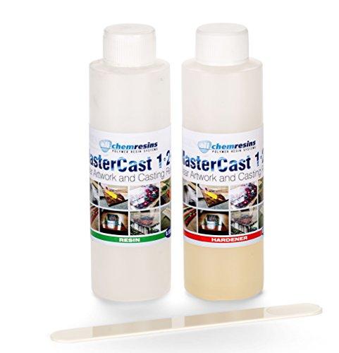 mastercast-1-2-1-resina-epossidica-trasparente-kit-tester-stabilizzato-uv-285-ml-con-indurente-e-ute