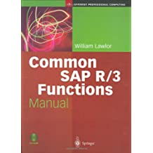 Common SAP R/3 Functions Manual (Springer Professional Computing)