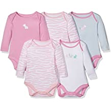 Mothercare Girls' Bodysuit (Pack of 3)