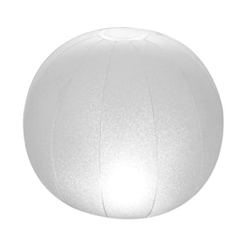 Intex - Lámpara LED flotante para piscinas & forma redonda - 23 x 22 cm (28693)