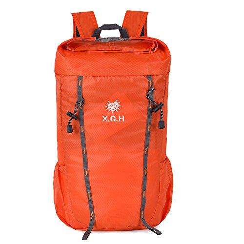 Imagen de vbiger 25l  de escalada  para uso al aire libre  para viajar deportes ocio escalada actividades al aire libre caminar naranja