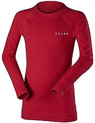 Falke Ski Enfants Wool Tech T-shirt à manches longues pour homme