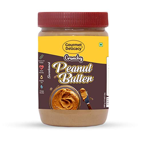 Gourmet Delicacy Crunchy Peanut Butter 500g