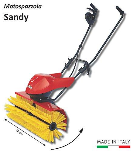 Sandy Moto Spazzola Elettrica Per Manutenzione Di Campi Erba Sintetica