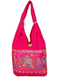 Womaniya Women's Shoulder Bag (Pink-Woman-883)