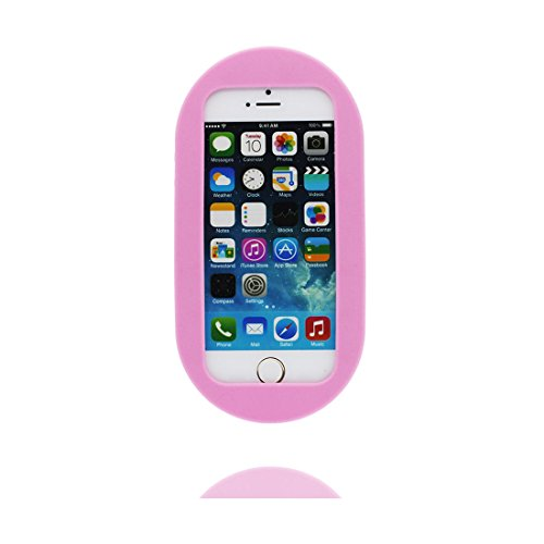 Hülle iPhone 5, iPhone 5S Case TPU 3D Cartoon Pill Fashionable Handyhülle iPhone SE 5s 5G 5C Cover Shell, haltbare weiche Skin Staub-Beleg-Kratzer beständig & Staubstecker # 2