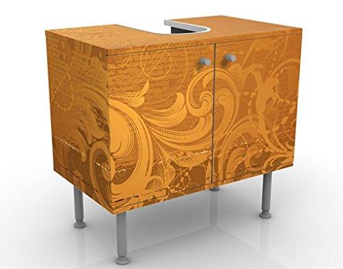 Apalis 53417 Waschbeckenunterschrank Goldener Barock, 60 x 55 x 35 cm