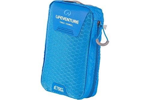 SoftFibre Trek Towel Large - Blue/Green - Lifeventure
